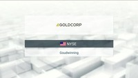 Buy & Sell: Goldcorp 23/08/17