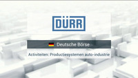 Buy & Sell: Duerr 17/01/18